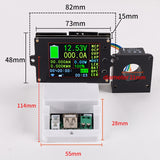 DC 500V 500A Wireless voltage/Power/Capacity Meter