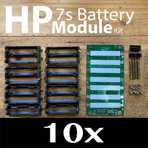 High Power 18650 Battery Module DIY PCB Kit 10x