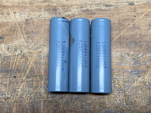 Modem 18650 three cell Battery Pack
