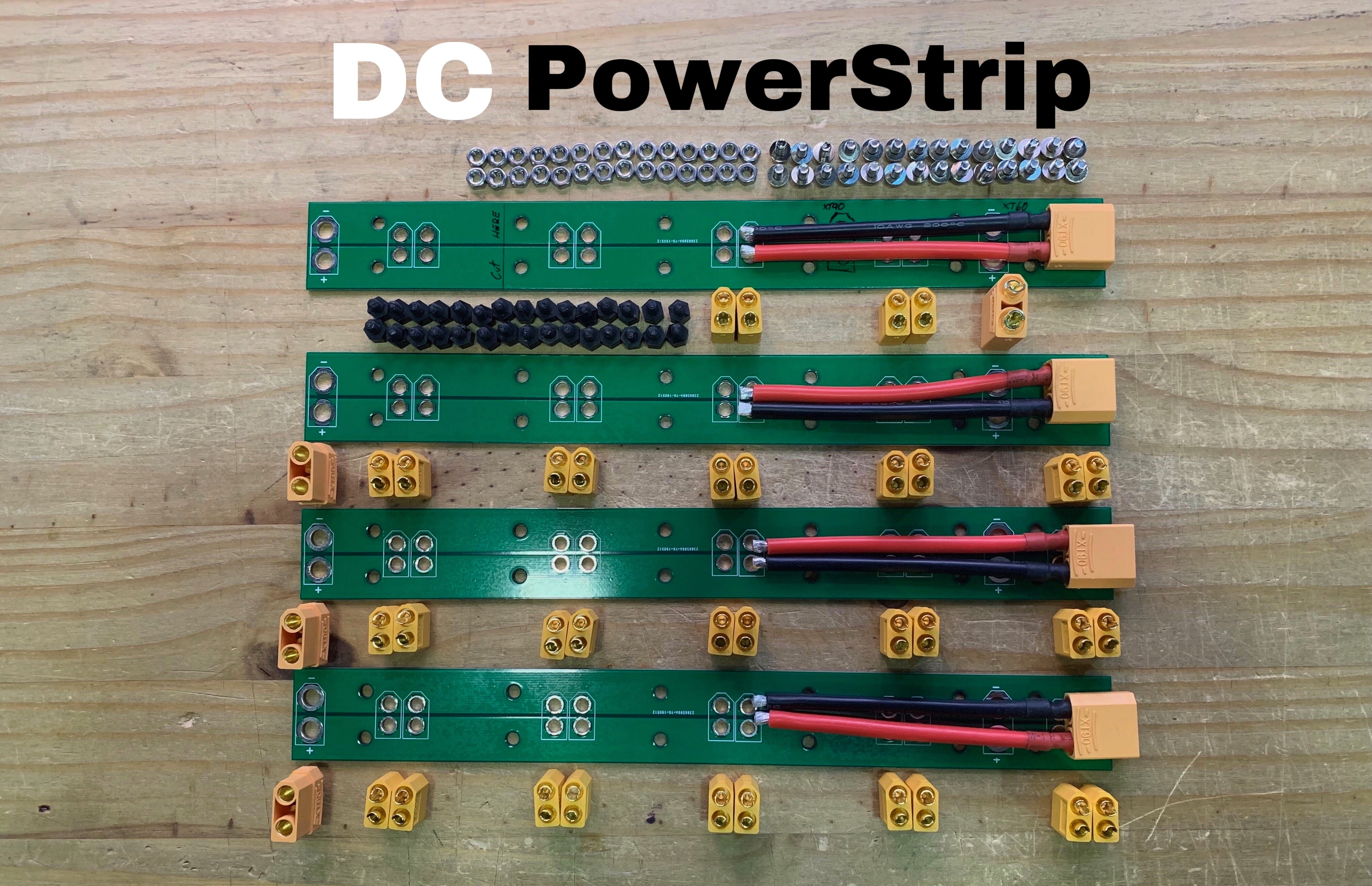 DC PowerStrip PCB Kit