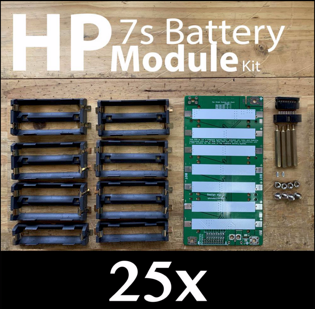 High Power 18650 Battery Module DIY PCB Kit 25x