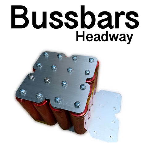 Custom Aluminum Buss Bars x4 for 38120 headways Cells