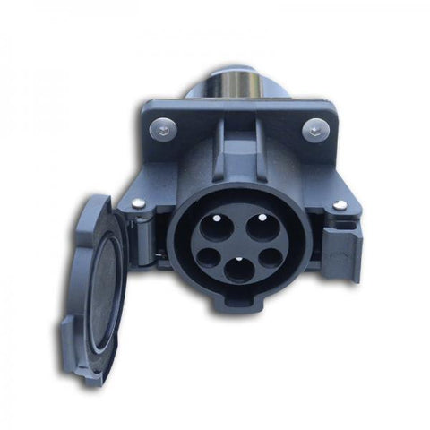 J1772 32A Receptacle (Socket Only) Ver. 2 - Self Opening