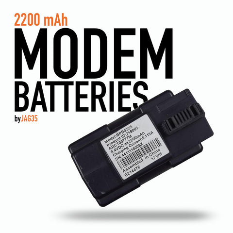Modem 18650 2-cell Battery Pack, 2200mAh