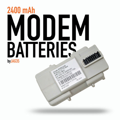 Modem 18650 2-cell Battery Pack, 2400mAh