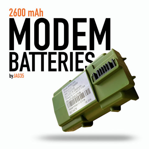 Modem 18650 2-cell Battery Pack, 2600mAh