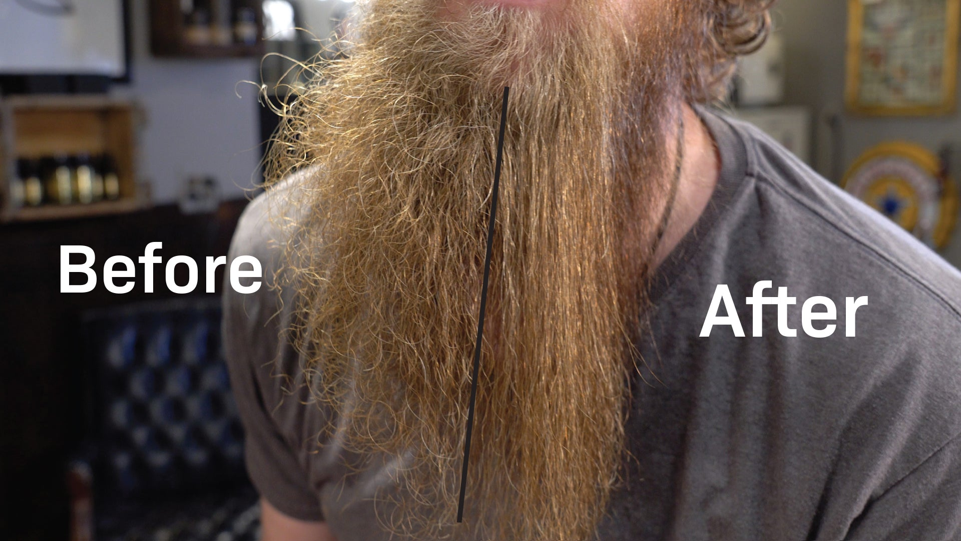 Beard Straightener - Crafted Beards