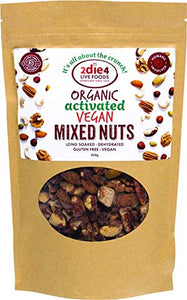 2Die4 Organic Activated Vegan Mixed Nuts