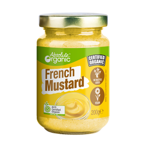 Absolute Organic French Mustard 180g