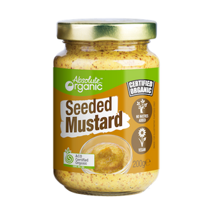 Absolute Organic Seeded Mustard 180g