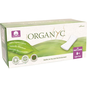 Organyc Panty Liners Light x24