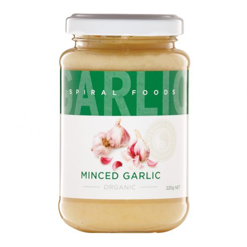Spiral Minced Garlic