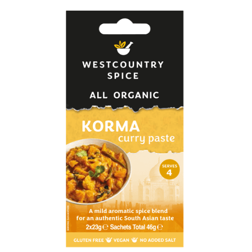 Westcountry Korma Curry Paste