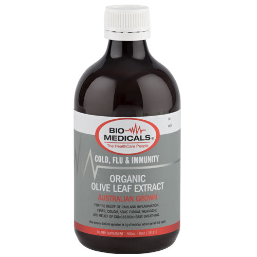 BM Olive Leaf Extract 500ml