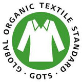 GOTS certified organic cotton symbol
