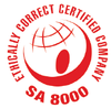 Ethically certified company logo