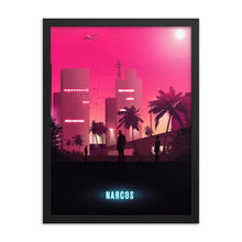 Load image into Gallery viewer, narcos 80s neon poster