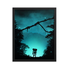 "Load image into Gallery viewer, ""Metroid Prime"" Framed Matte Poster"