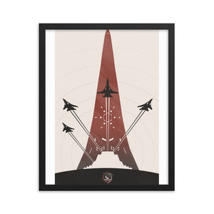 """Ace Combat"" Framed Premium Luster Photo Paper Poster"