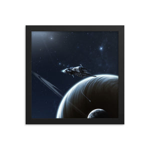 """Sulaco"" Framed Premium Luster Photo Paper Poster"