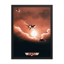 "Load image into Gallery viewer, ""Top Gun"" Framed Matte Poster"