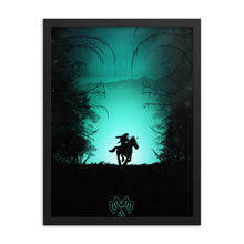 "Load image into Gallery viewer, ""The Lost Woods"" Framed Matte Poster"