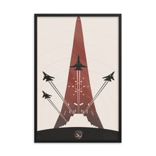 "Load image into Gallery viewer, ""Ace Combat"" Framed Premium Luster Photo Paper Poster"