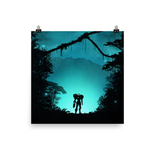 "Load image into Gallery viewer, ""Metroid Prime"" Matte Poster"
