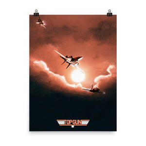 """Top Gun"" Premium Luster Photo Paper Poster"
