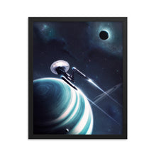 "Load image into Gallery viewer, ""Beyond"" Framed Matte Poster"