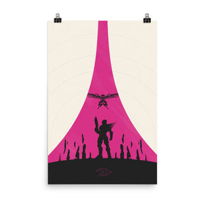 halo 5 guardians master chief minimalist poster