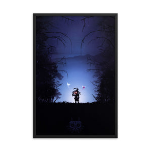 legend of zelda majora mask poster