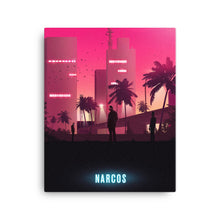 "Load image into Gallery viewer, ""Narcos"" Canvas Print"