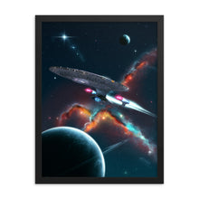 Load image into Gallery viewer, enterprise star trek poster