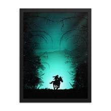 "Load image into Gallery viewer, ""The Lost Woods"" Framed Premium Luster Photo Paper Poster"