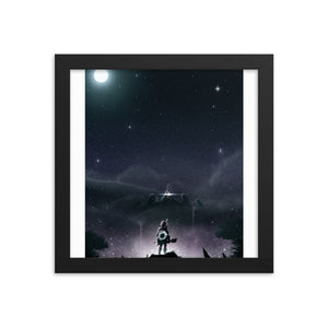"""Breath of the Wild"" Framed Matte Poster"