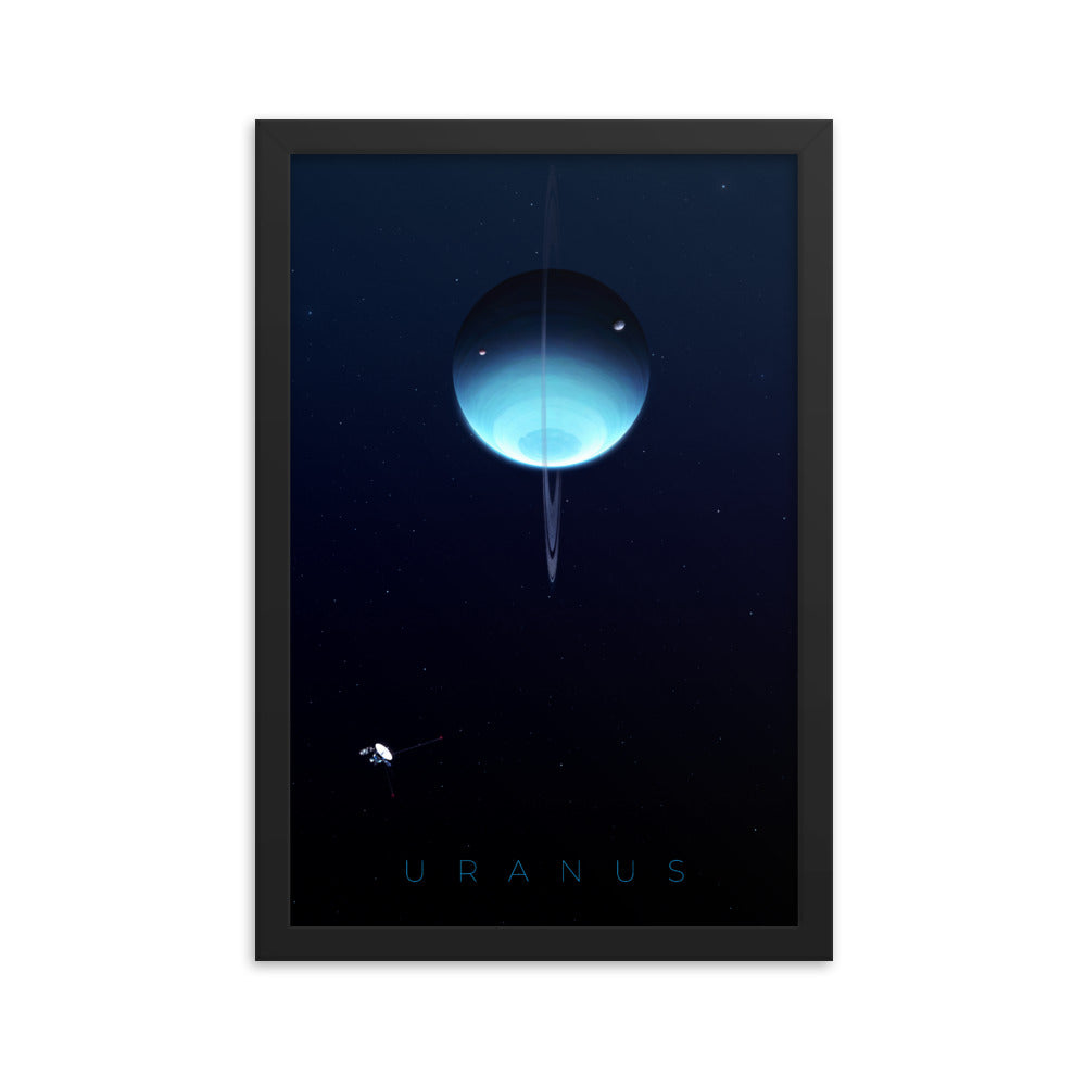 uranus space poster by noble-6 design