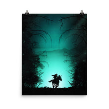 "Load image into Gallery viewer, ""The Lost Woods"" Matte Poster"