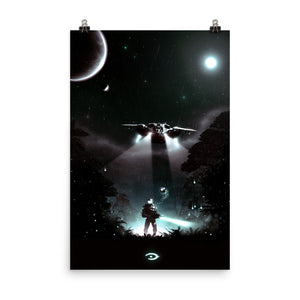halo master chief poster