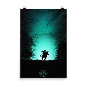 """The Lost Woods"" Matte Poster"