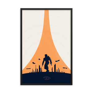 """Halo 2"" Framed Premium Luster Photo Paper Poster"