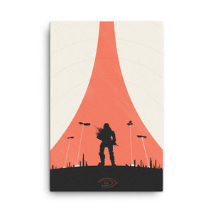 """Halo Reach"" Canvas Print"