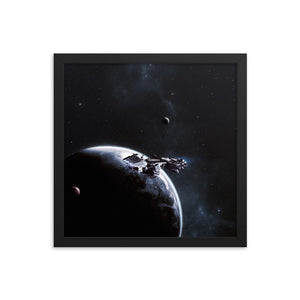 """Covenant"" Framed Premium Luster Photo Paper Poster"