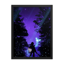 "Load image into Gallery viewer, ""Hero of Hyrule"" Framed Premium Luster Photo Paper Poster"