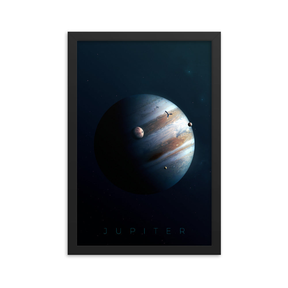 jupiter space poster by noble-6 design
