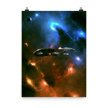 "Load image into Gallery viewer, ""Enterprise-E"" Premium Luster Photo Paper Poster"