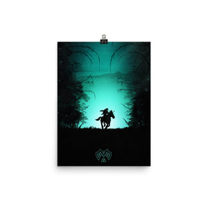"""The Lost Woods"" Premium Luster Photo Paper Poster"