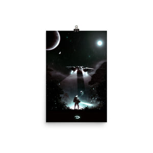 """Halo - Well Enough Alone"" Matte Poster"