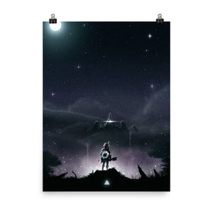 """Breath of the Wild"" Premium Luster Photo Paper Poster"