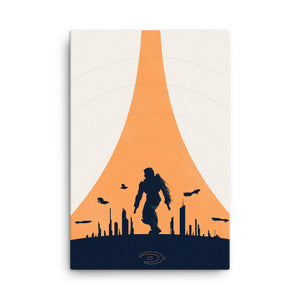 """Halo 2"" Canvas Print"
